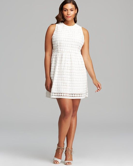 10 all white plus size party dresses   bb, sundresses and curves