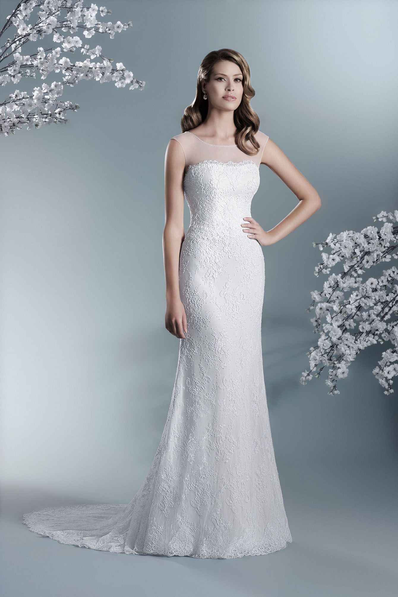 Agnes - The One 603T | Agnes - The One | Pinterest | Wedding dress ...