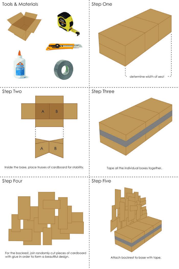 Pappmobel Der Nachhaltige Trend Und Seine Vorteile Auf Einen Blick Karton Mobel Pappstuhl Nachhaltige Trends