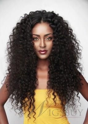 Clip In Black Women Curly 7 Pcs India Remi Hair Clip In Hair Extensions 1 Pc Hair Styles Curly Hair Styles Hair Inspiration