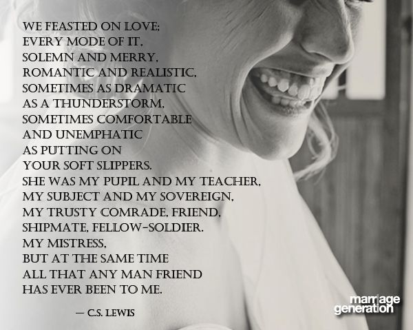 Cs Lewis Reflecting On His Relationship With His Wife Joy