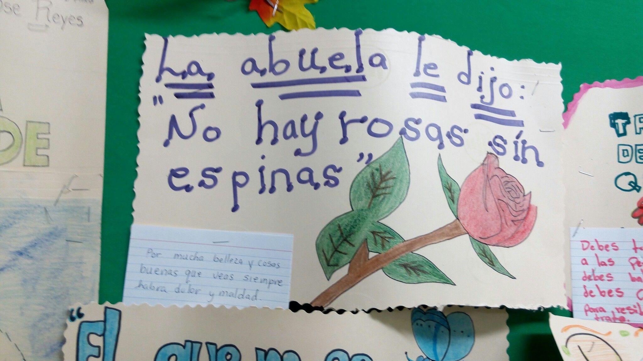 Mrs Lagares Class Activity Esperanza Renace Quote