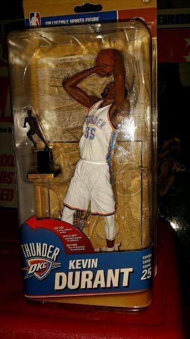 a589b664df95 McFarlane NBA Series 25 KEVIN DURANT Exclusive Action Figure with NBA MVP  Trophy  McFarlaneToys