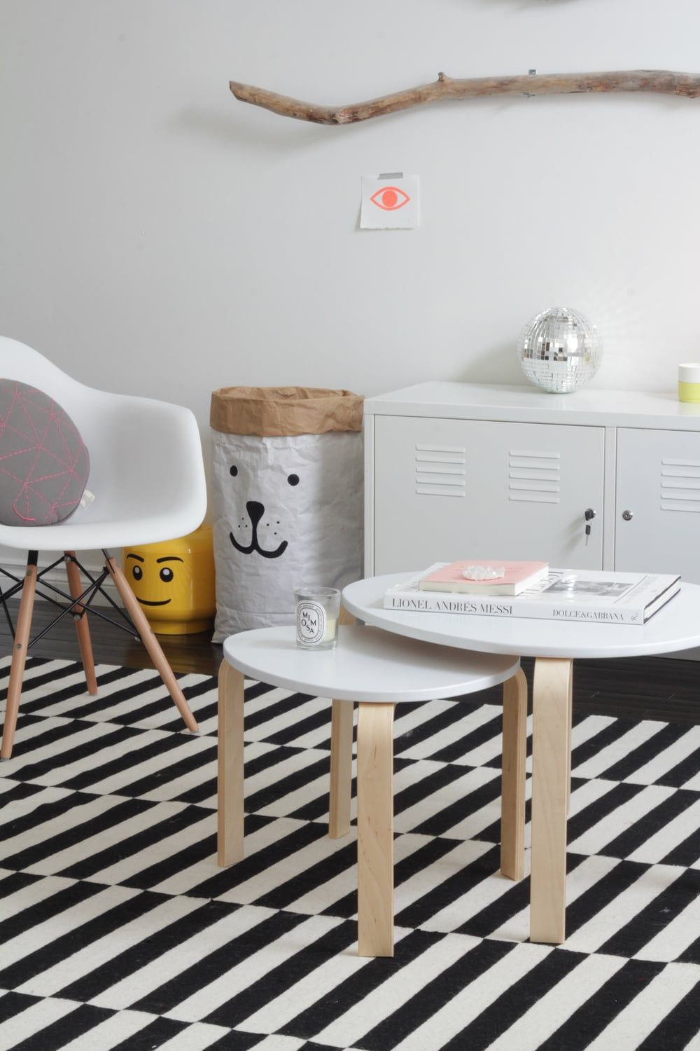 Coffeetable time pinterest living rooms room and ikea hack ikea svalsta nesting tables tops painted white watchthetrailerfo