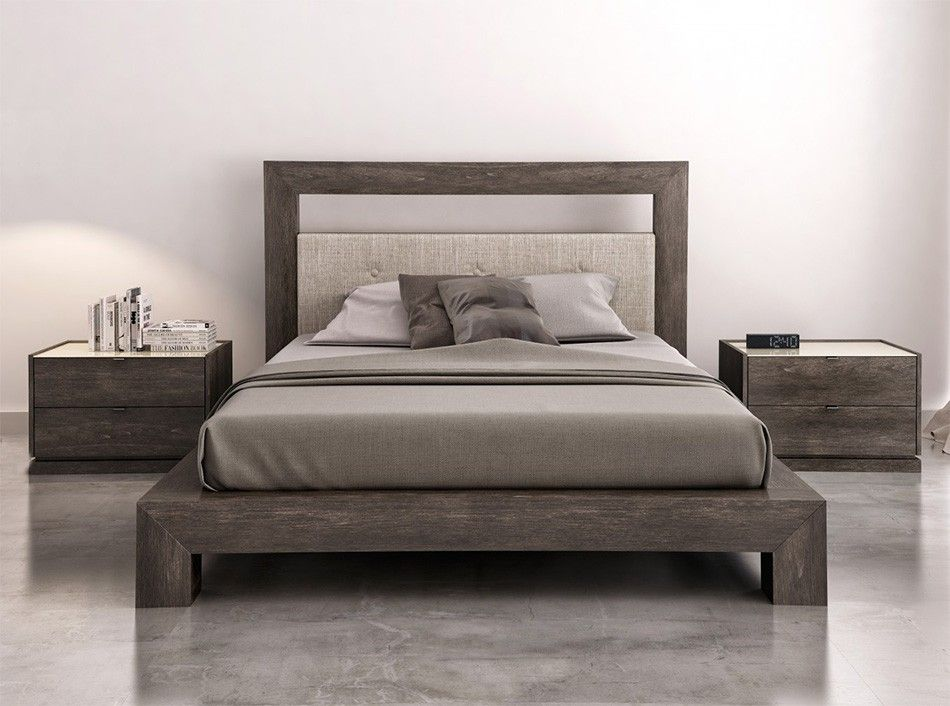 Cloe Platform Bed by Huppe  187200  Bedroom Sets by Huppe Canada  Modern bedroom