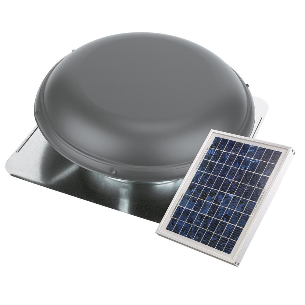 Air Vent 800 Cfm 10 Watt Solar Powered Exhaust Roof Mount Attic Ventilator Npsp8ww Solar Panels Solar Roof Solar Energy Panels