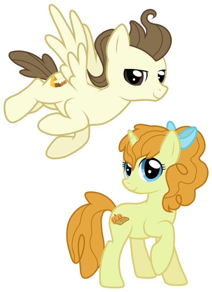 Pound And Pumpkin Cake All Grown Up Mlp My Little Pony