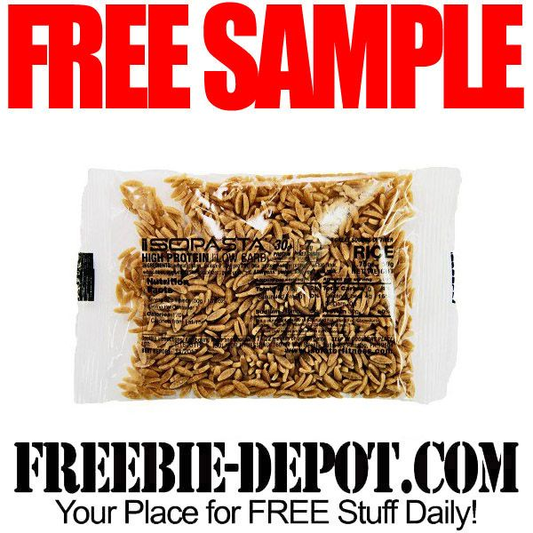 ►► FREE SAMPLE - Isopasta Rice/Orzo ►► #Free, #FREESample, #FREEStuff, #Freebie ►► Freebie-Depot