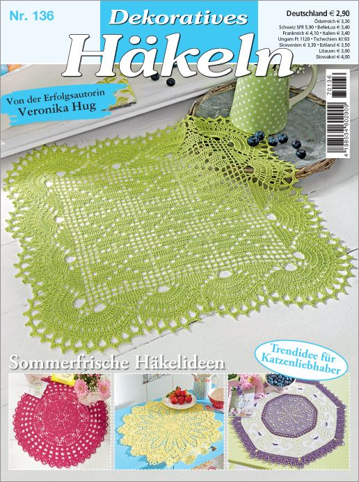 Dekoratives Häkeln Nr 1362017 Sommerfrische Häkelideen Deckchen