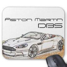 Aston Martin Dbs Mouse Pad Aston Martin Aston Martin Dbs Aston