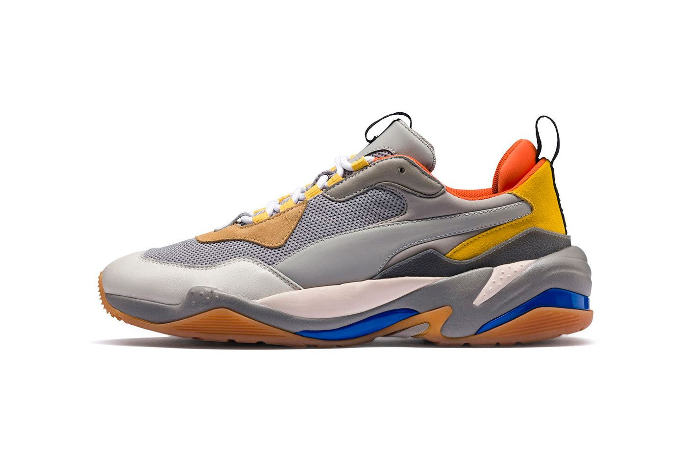 8a31d670fcc PUMA Thunder Spectra Grey orange Yellow Blue August 2018 release date info  drop sneakers shoes footwear
