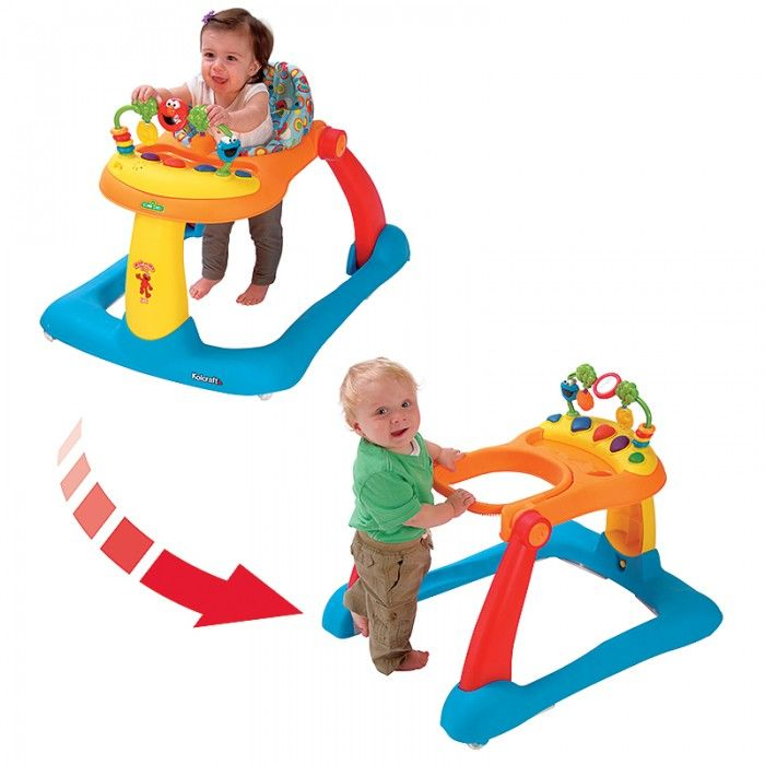 The Sesame Street Elmo Tiny Steps 2 In 1 Activity Walker Is A Sit To