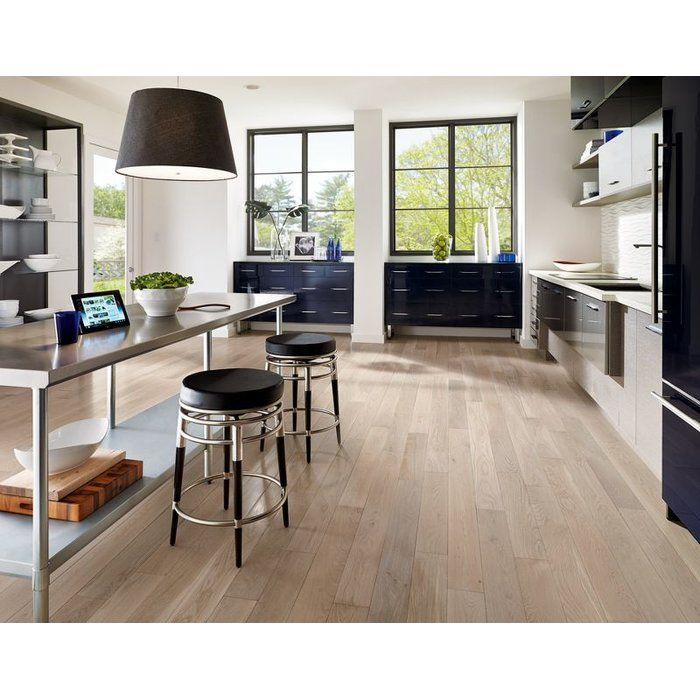 Wildon Home 5 Engineered Oak Hardwood Flooring In Mystic Taupe