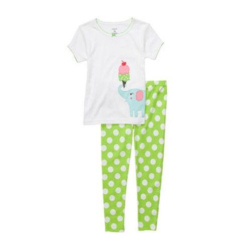 Pin By Bing Bong On Pajamas Girls Cotton Pjs Girls Pajamas Kids Pajamas