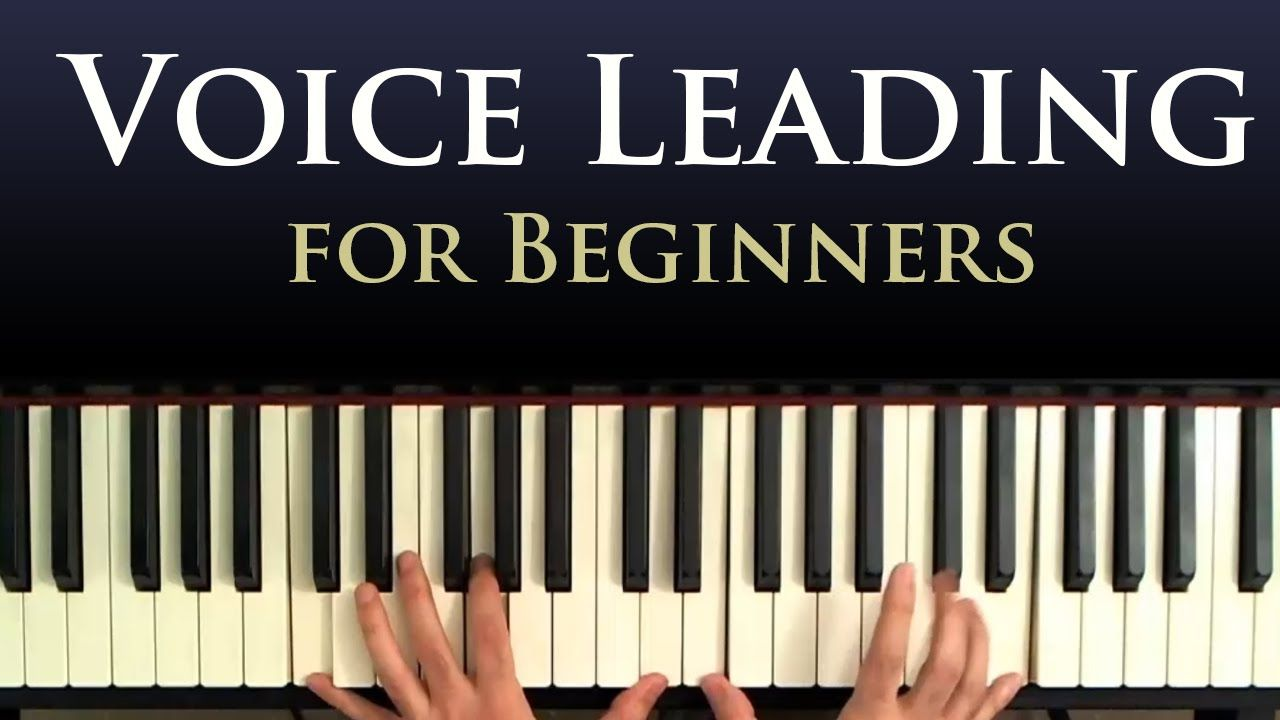 voice leading a beginner piano lesson in smooth chord progressions rh pinterest com Piano Chord Progression Chart Full Piano Chord Chart