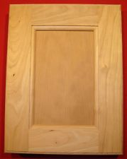 Laundry Clothes Chute Door Cherry Frameless Unfinished Floor