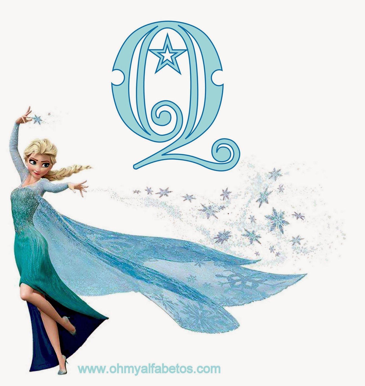 Frozen alfabeto de elsa oh my alfabetos abc elsa pinterest