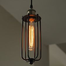 punched tin chandelier edison - Google Search