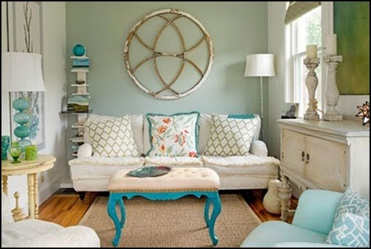 house of turquoise cute living room