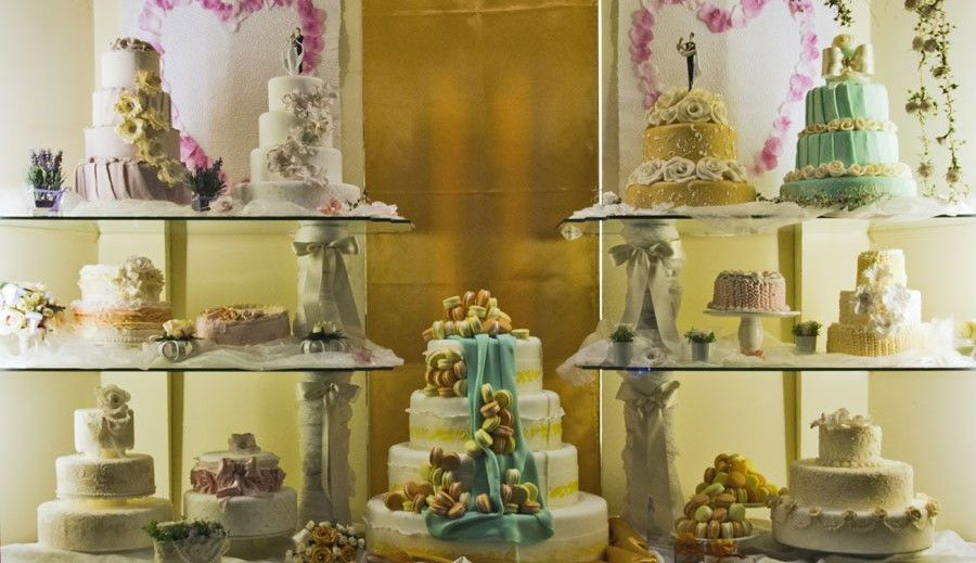 wedding cake Pasticceria Fiorentini - Faenza (Italy)