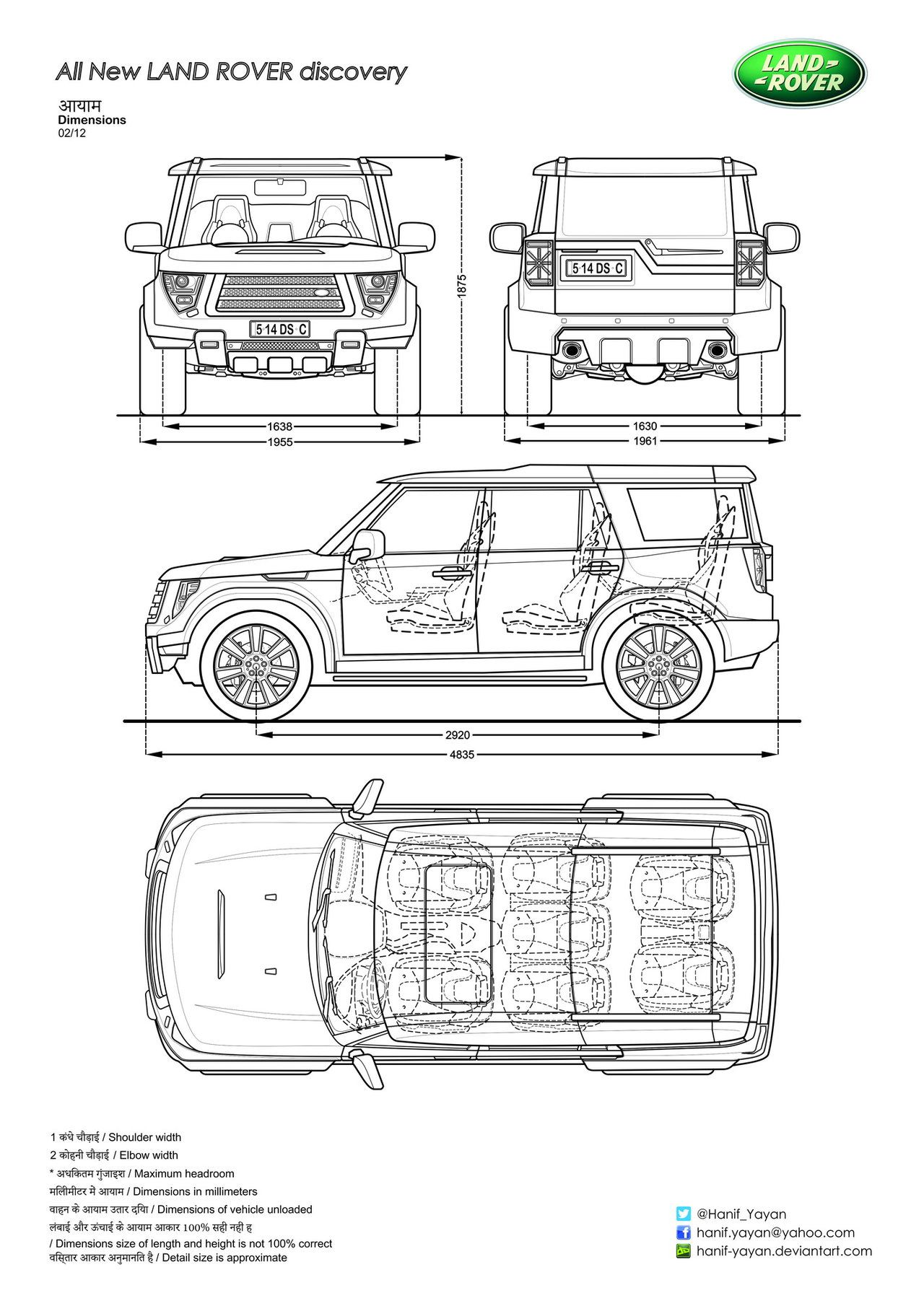 Land Rover | Blueprint Database | Pinterest | Land rovers, Cars and ...