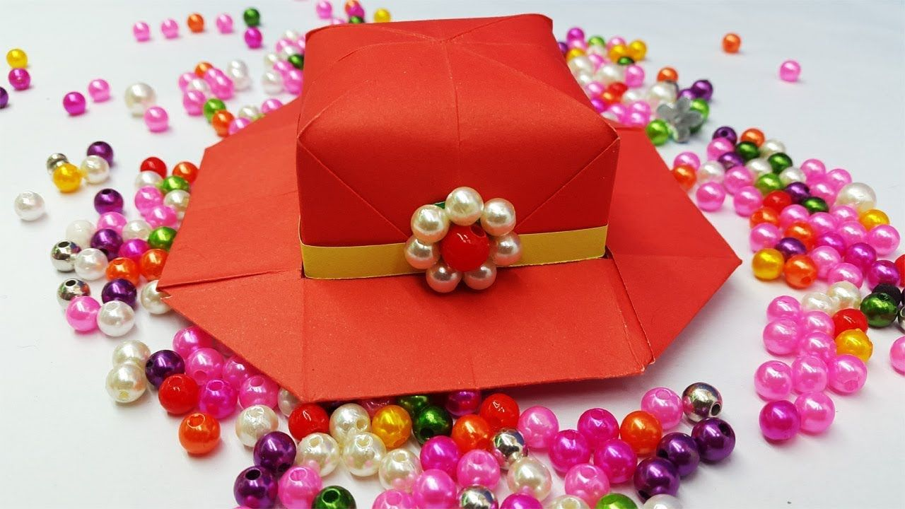 How To Make Paper Hat For Girls