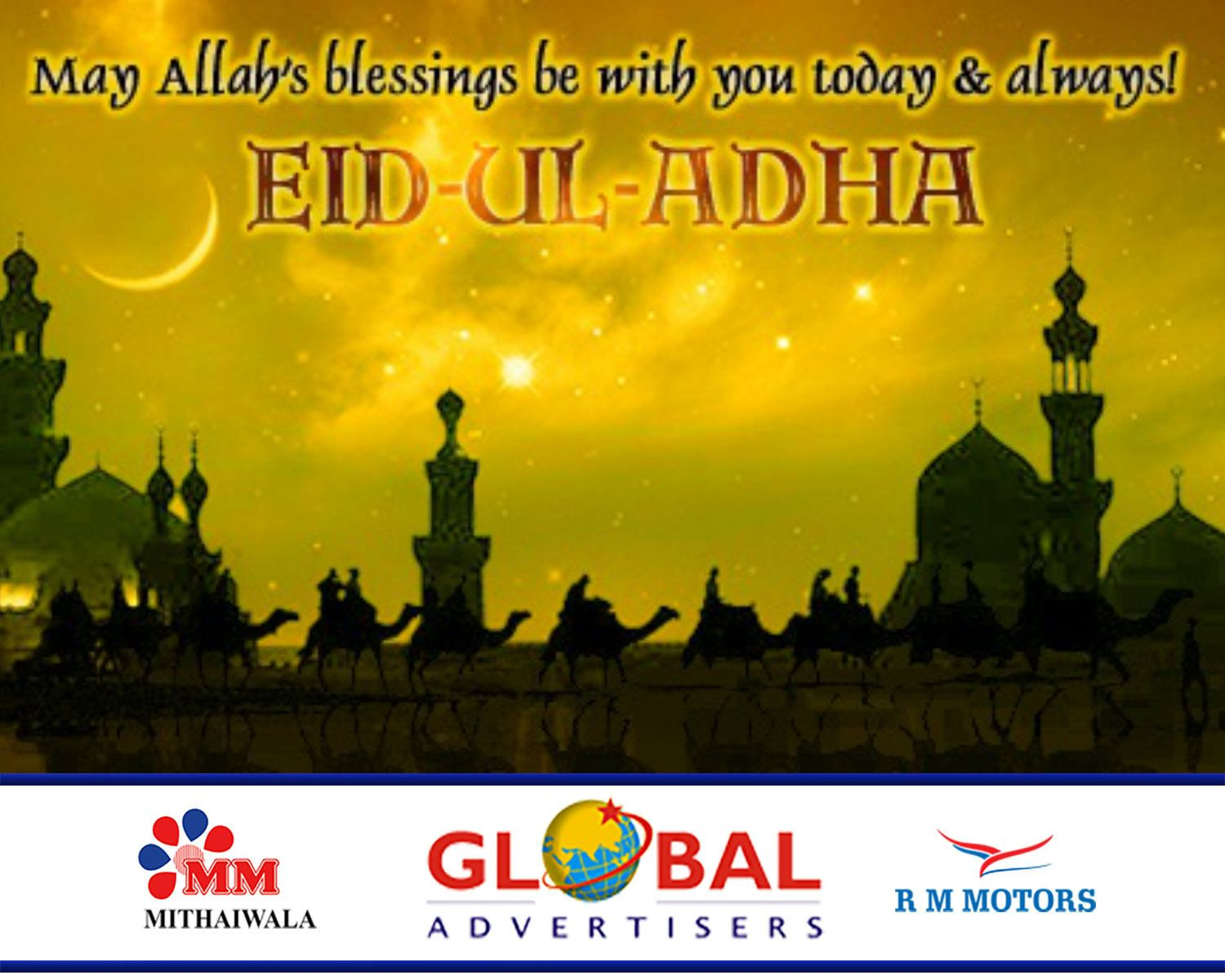 Greetings happy eid al adha to you and your family eidmubarak greetings happy eid al adha to you and your family eidmubarak kristyandbryce Choice Image