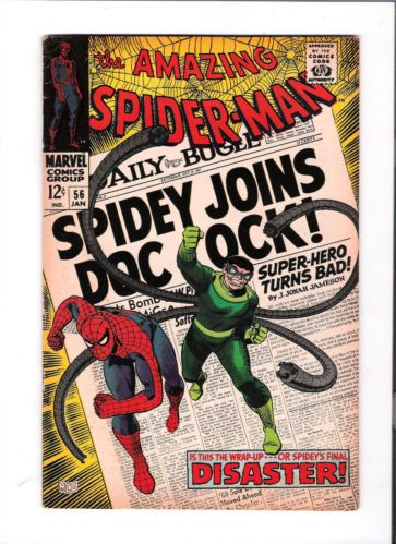 AMAZING SPIDER-MAN #56 First Captain Stacy appearance! Silver Age find! 7.0 http://r.ebay.com/lXQpsw