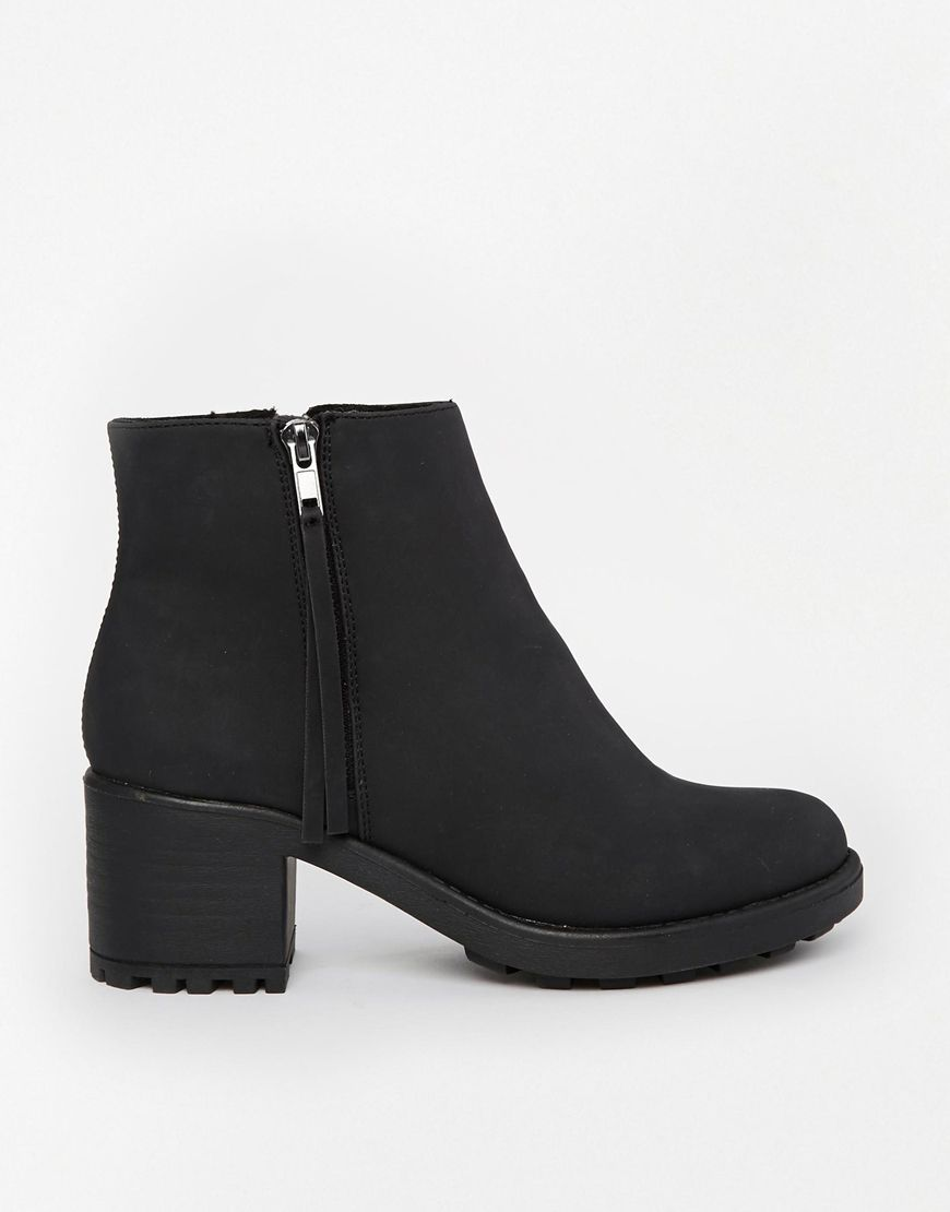 River Island Zip Black Ankle Boots | Shoes | Pinterest | ASOS ...