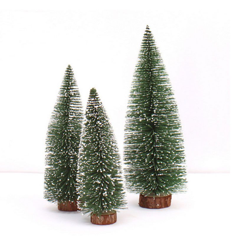 Mini Christmas Creative White Hanging Christmas Trees Business Tool - outdoor christmas decorations wholesale