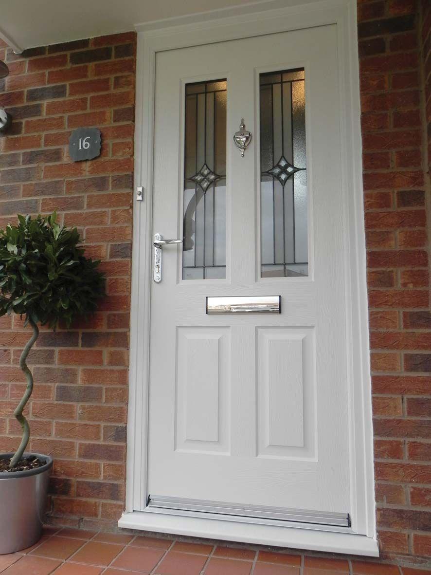 White Jacobean Summit Rockdoor Composite Door Front Door Ideas Front Door Colours Front Door Style Composite Door Cottage Front Doors Composite Front Door