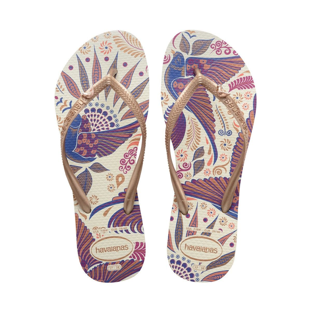 b2bc423855bf1 HAVAIANAS SLIM ROYAL SANDAL WHITE ROSE GOLD.  havaianas  shoes  all ...