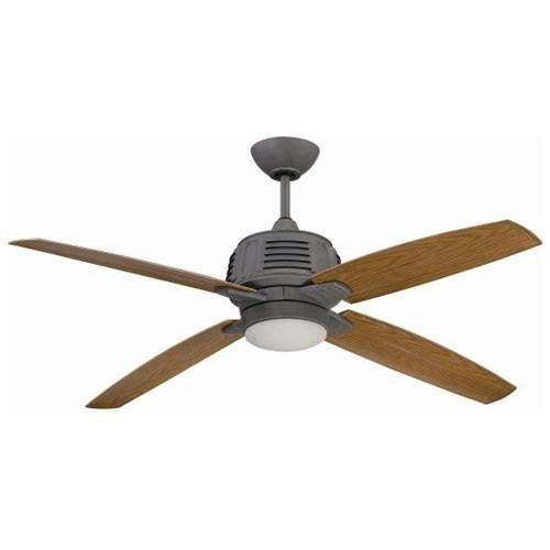 Galvanized ceiling fan