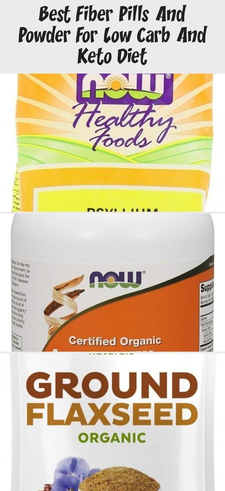 fiber supplements for low carb diet