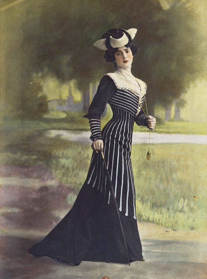 1901, Les Modes (Paris) Walking dress