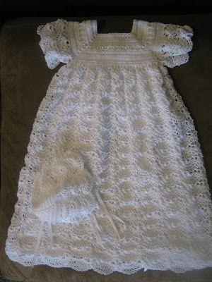 Free Crochet Christening Gown Really Enjoy Crocheting