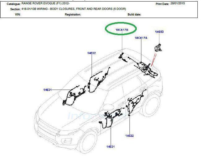 range rover trailer wiring harness