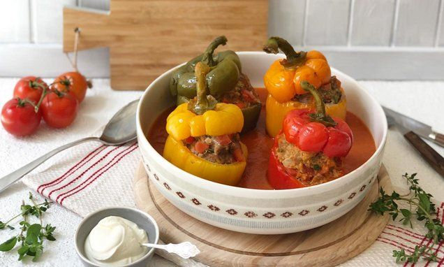 18+ Gefuellte paprika mit hackfleisch chefkoch Trends