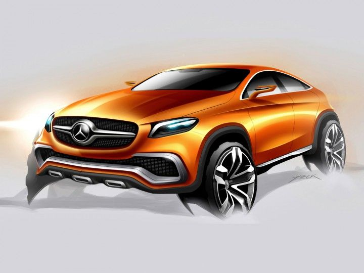 Mercedes Benz Coupe Suv Concept The Official Images And Design