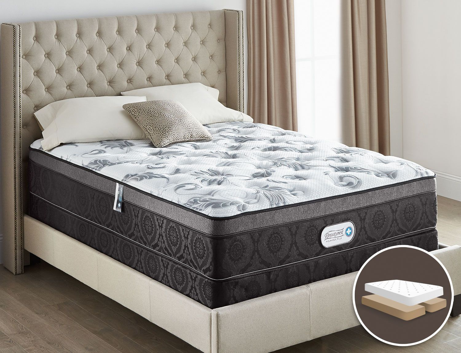 Best Mattresses And Bedding Beautyrest® Recharge Plus Allure 400 x 300