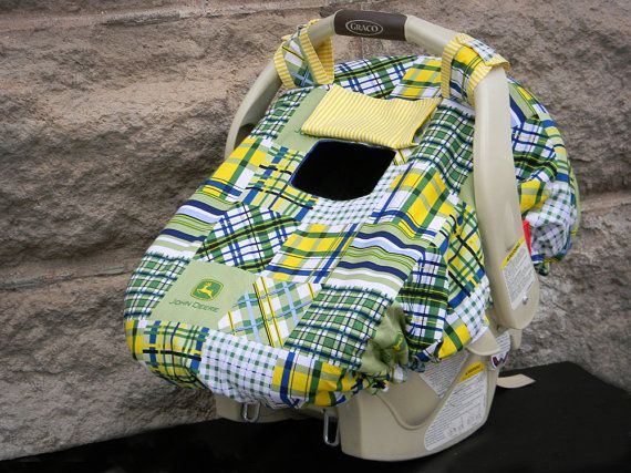 Baby Car Seat Cover FLEECE Lined Fitted By ThePoppyHollowShop