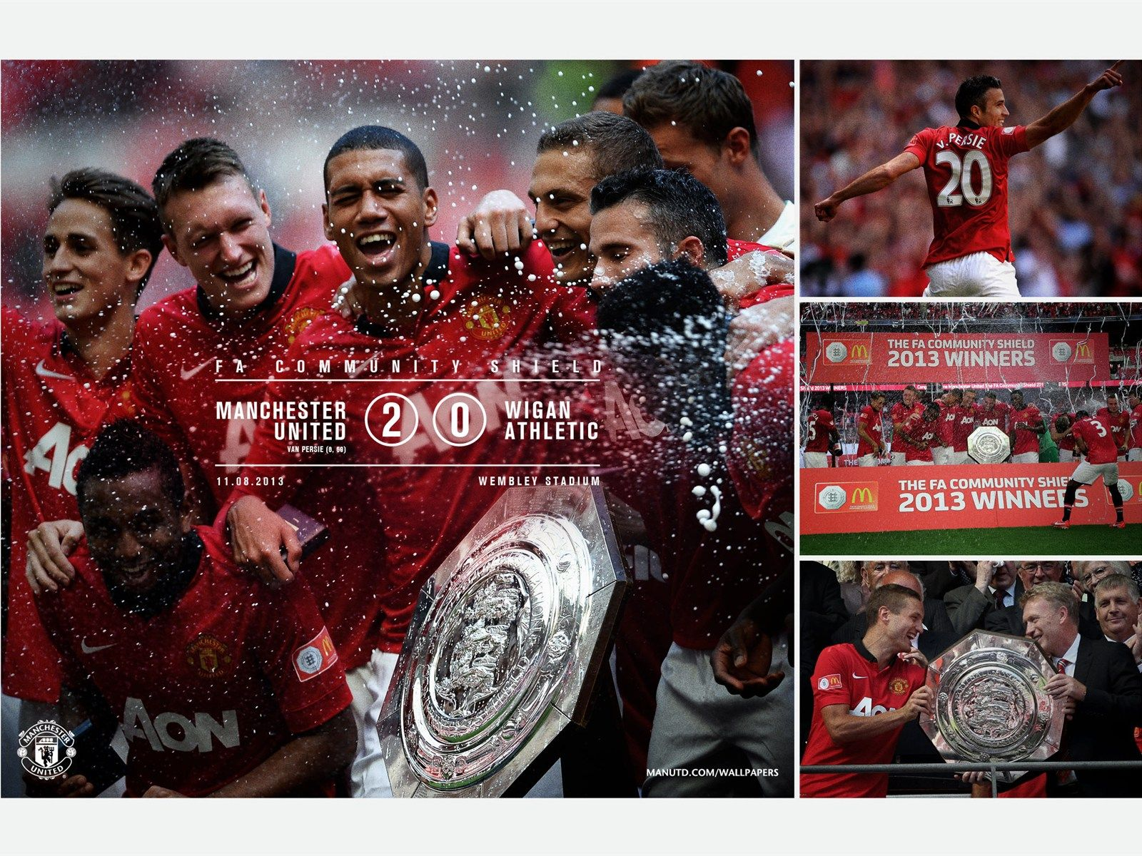 Manchester United 443 Manchester United Official Manchester United Website Wigan