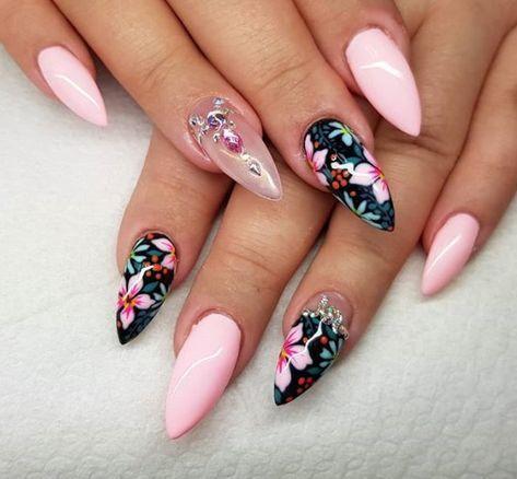 trendy gel nail 2018  best instagram nail art  instagram