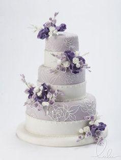 Lulu Cakes Lavender Wedding Cake Beautiful Cakes Amazing Wedding Cakes