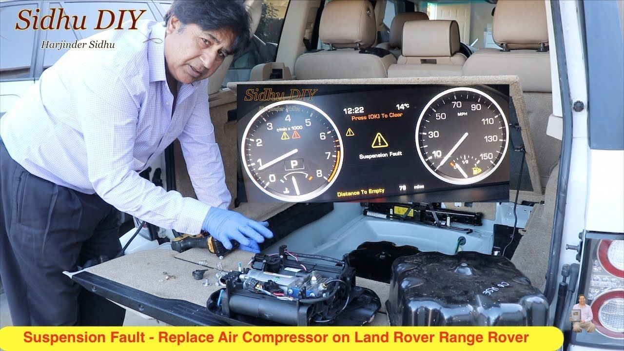 How To Fix Suspension Fault on Land Rover Range Rover