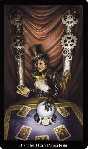 More Tarot Tuesday The Occult Detective The High: More Beautiful Tarot Card Artwork From The Steampunk Tarot
