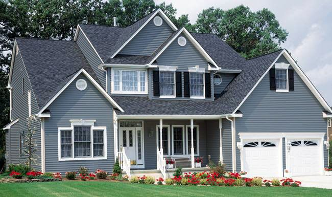 exterior paint colors - Exterior House Colors Blue