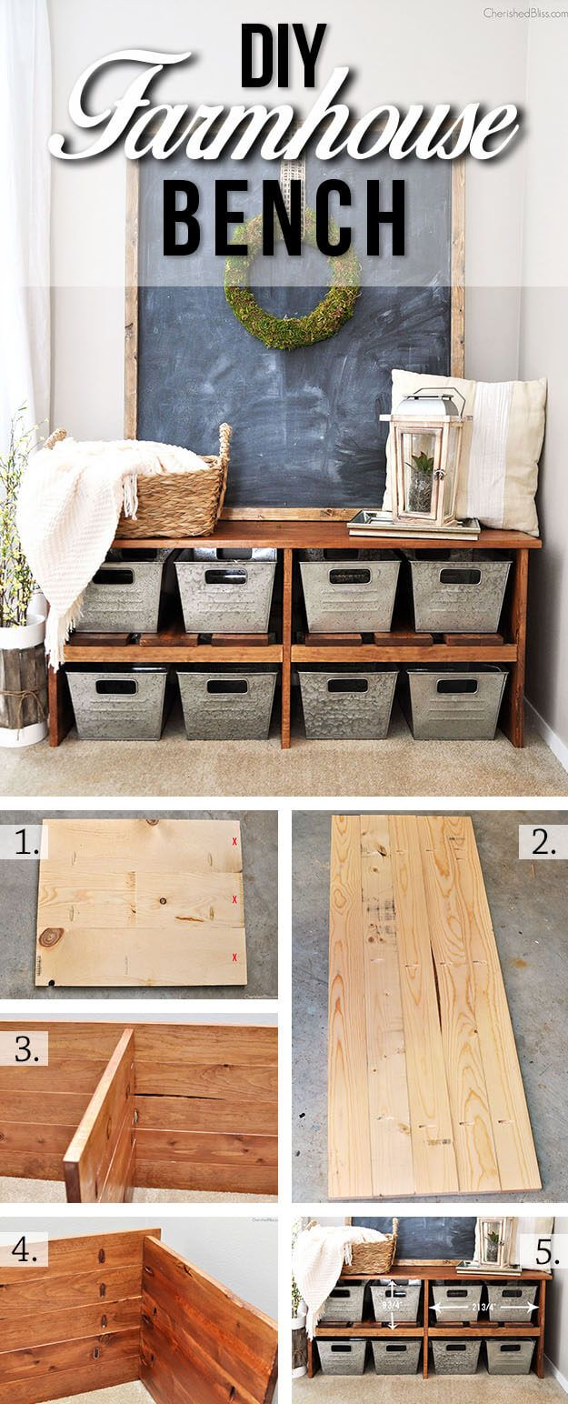 36 diy rustic organizing and storage projects that will help you