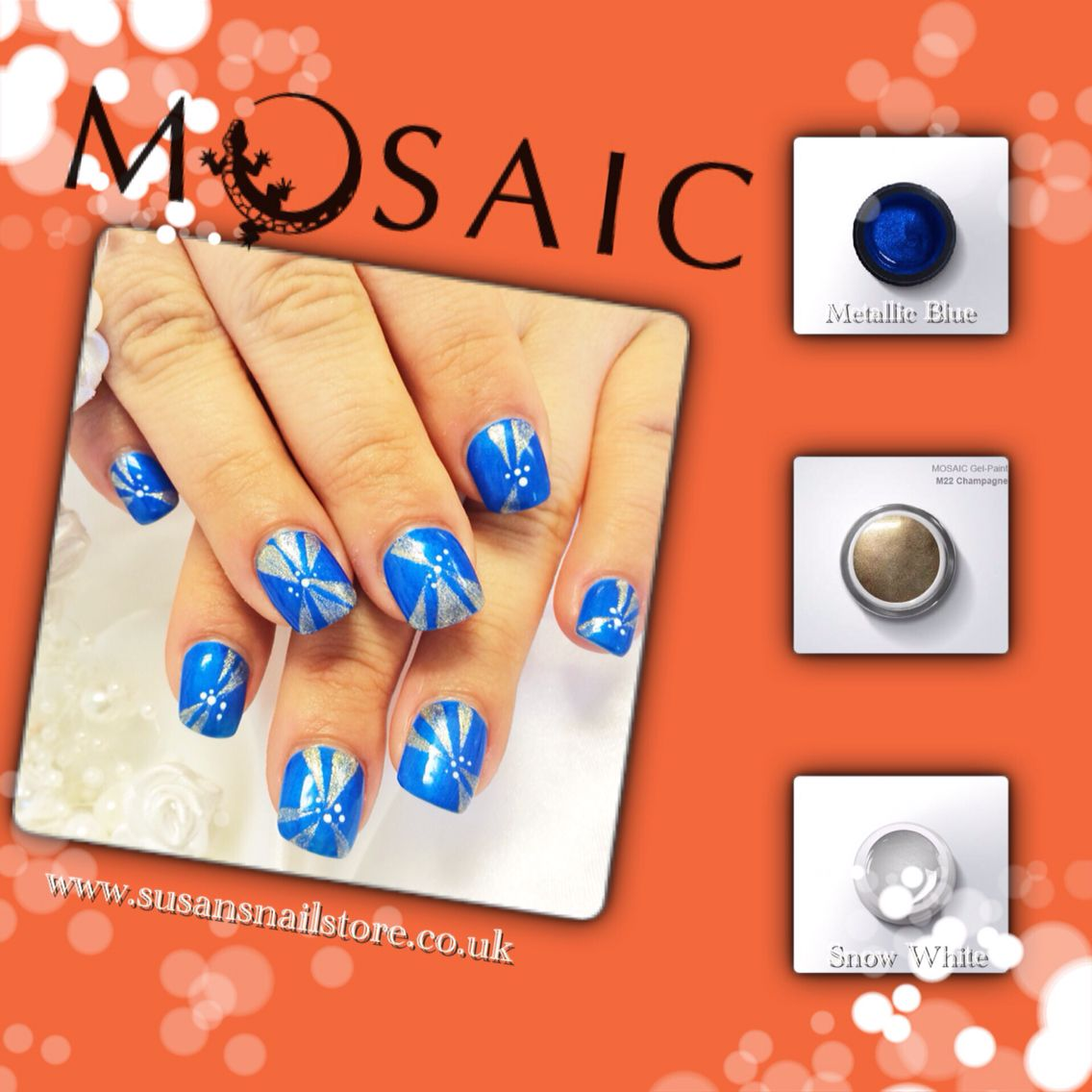 Mosaic gel paints are very high pigmented paints! Most of