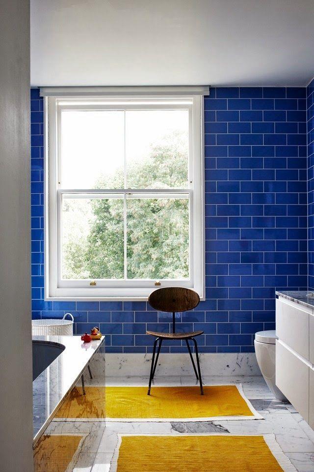 alteregodiego:  Blue and yellow #interiors